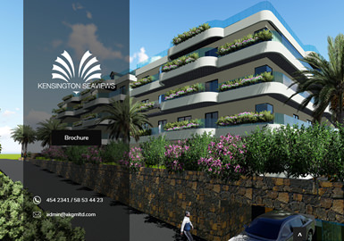 Web design for  KensingtonSeaviews.com